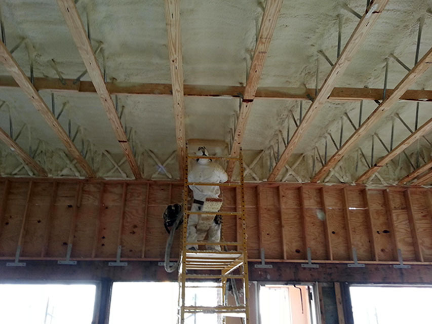 Commercial Spray Foam Insulation New York